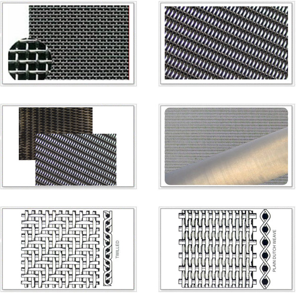 金属丝编织过滤网,不锈钢丝网网布,席型网种类/规格/型号介绍